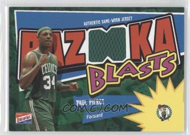 2003-04 Bazooka Bazooka Blasts Memorabilia #BB-PP - Paul Pierce