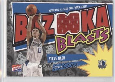 2003-04 Bazooka Bazooka Blasts Memorabilia #BB-SN - Steve Nash