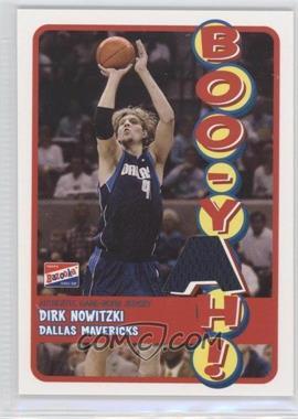 2003-04 Bazooka Boo-Yah! Memorabilia #BBY-DN - Dirk Nowitzki