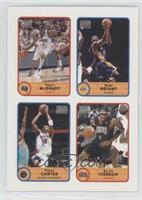 Tracy McGrady, Kobe Bryant, Vince Carter, Allen Iverson