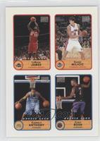 Lebron James, Carmelo Anthony, Chris Bosh