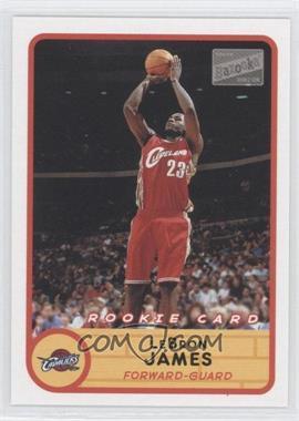 2003-04 Bazooka #223.1 - Lebron James (Red Jersey Jump Shot)