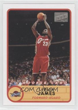 2003-04 Bazooka #223.2 - Lebron James (Red Jersey Jump Shot)