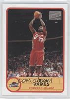 Lebron James (Red Jersey Jump Shot)