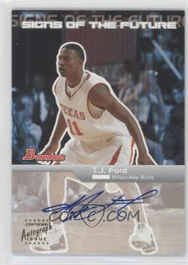 2003-04 Bowman - Signs of the Future - [Autographed] #SFA-TJ - T.J. Ford