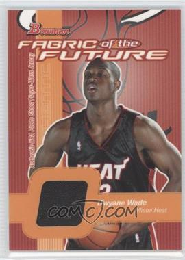 2003-04 Bowman Fabric of the Future [Autographed] #FF-DW - Dwyane Wade