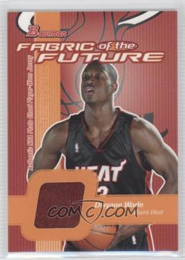 2003-04 Bowman Fabric of the Future #FF-DW - Dwyane Wade