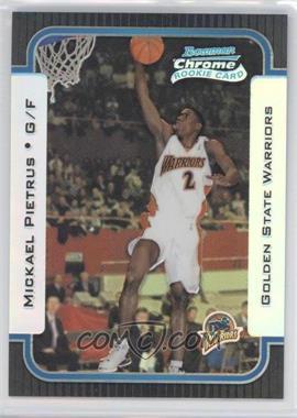 2003-04 Bowman Rookies & Stars - Chrome - Refractor #145 - Mickael Pietrus /300