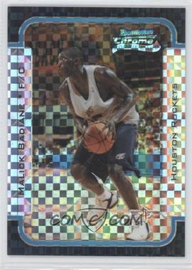 2003-04 Bowman Rookies & Stars - Chrome - X-Fractor #128 - Malick Badiane /150