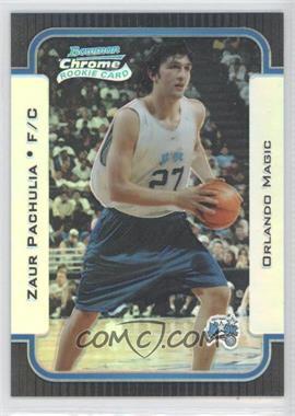 2003-04 Bowman Rookies & Stars Chrome Refractor #127 - Zaza Pachulia /300