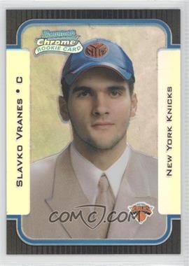 2003-04 Bowman Rookies & Stars Chrome Refractor #138 - Slavko Vranes /300
