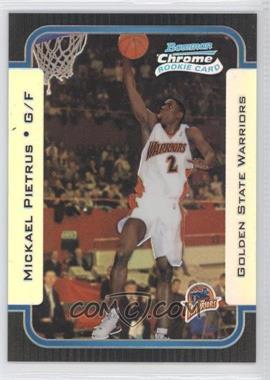 2003-04 Bowman Rookies & Stars Chrome Refractor #145 - Mickael Pietrus /300