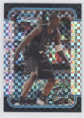 2003-04 Bowman Rookies & Stars Chrome X-Fractor #116 - Ndudi Ebi /150
