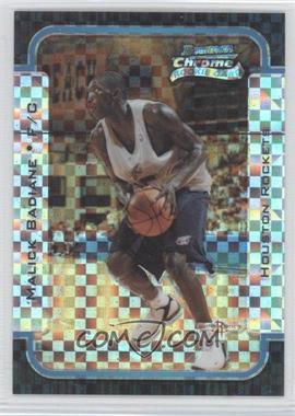 2003-04 Bowman Rookies & Stars Chrome X-Fractor #128 - Malick Badiane /150
