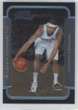 2003-04 Bowman Rookies & Stars Chrome #140 - Carmelo Anthony