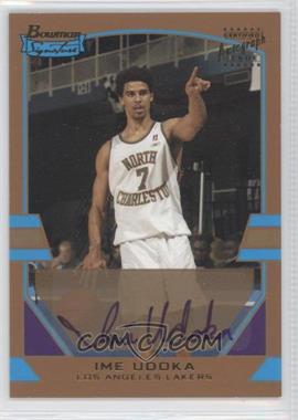 2003-04 Bowman Signature Gold #112 - Ime Udoka /99