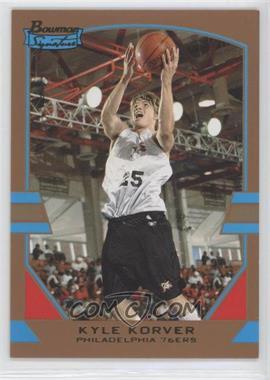 2003-04 Bowman Signature Gold #59 - Kyle Korver /99