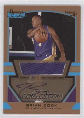 2003-04 Bowman Signature Gold #88 - Brian Cook /99