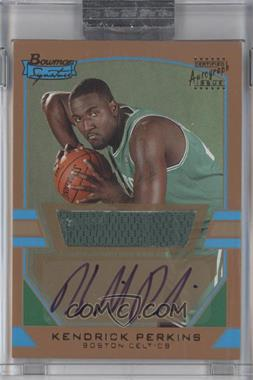 2003-04 Bowman Signature Gold #91 - Kendrick Perkins /99