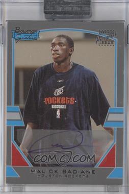 2003-04 Bowman Signature Silver #69 - Malick Badiane /249