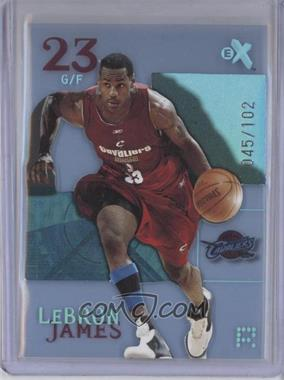 2003-04 E-X Essential Credentials Now #102 - Lebron James /102
