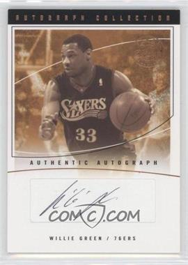 2003-04 Flair Final Edition - Autograph Collection - [Autographed] #AC-WG - Willie Green /200