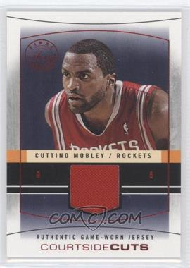 2003-04 Flair Final Edition - Courtside Cuts Jerseys - Red #CC-CM - Cuttino Mobley /175