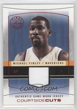 2003-04 Flair Final Edition Courtside Cuts Jerseys Red #CC-MF - Michael Finley /175