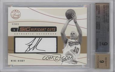 2003-04 Flair Final Edition SIGnificant Cuts Autographs [Autographed] #SIG-MB - Mike Bibby /50 [BGS 9]