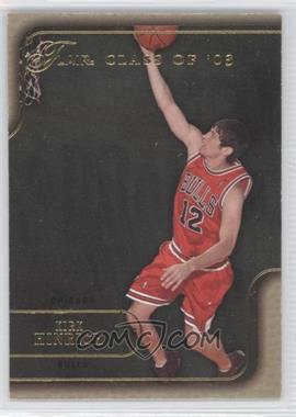 2003-04 Flair Flair Collection Row 1 Non-Numbered #115 - Kirk Hinrich
