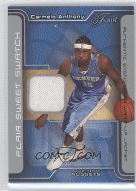 2003-04 Flair Sweet Swatch Game Jersey #SSJ-CA - Carmelo Anthony /250