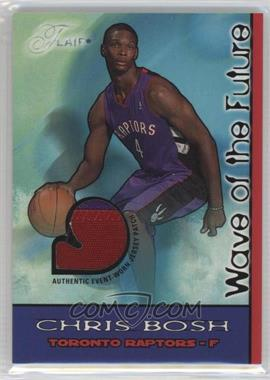 2003-04 Flair Wave of the Future Game Jersey Patch #WOFP-CB - Chris Bosh /50