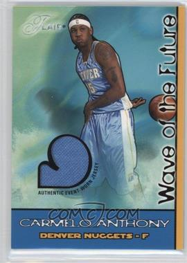2003-04 Flair Wave of the Future Game Jersey #WOF-CA - Carmelo Anthony /250