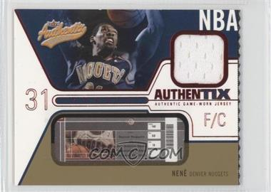 2003-04 Fleer Authentix - Jersey Authentix - Ripped #JA-N - Nene