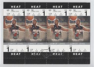 2003-04 Fleer Authentix Booster Tickets [???] #128A - Dwyane Wade