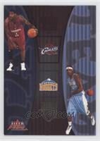 Lebron James, Carmelo Anthony /350