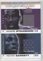 Amare Stoudemire, Kevin Garnett /100