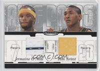Jermaine O'Neal, Metta World Peace /350