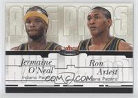 Jermaine O'Neal, Metta World Peace /48