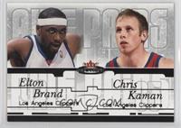 Elton Brand, Chris Kaman /500
