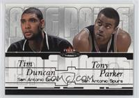 Tim Duncan, Tony Parker /500