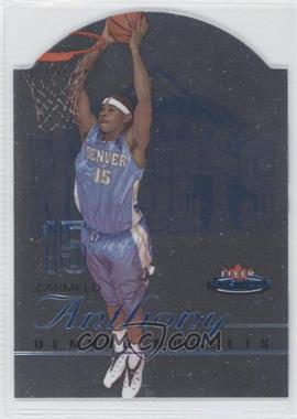 2003-04 Fleer Mystique - [Base] - Die-Cut Rookies #108 - Carmelo Anthony /600