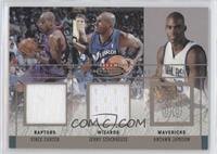 Vince Carter, Jerry Stackhouse, Antawn Jamison /250