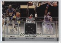 Amare Stoudemire, Kobe Bryant, Kevin Garnett /300