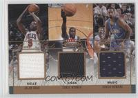 Jalen Rose, Chris Webber, Juwan Howard /150
