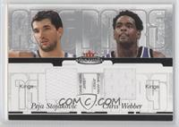 Peja Stojakovic, Chris Webber /350