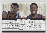 Allan Houston, Mike Sweetney /37