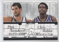 Peja Stojakovic, Chris Webber /500