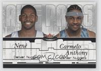 Nenê, Carmelo Anthony /500