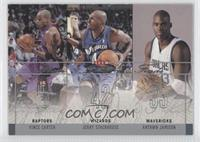 Vince Carter, Jerry Stackhouse, Antawn Jamison /500